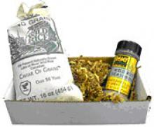 GIFT BOX #1:  1 lb. Long Grain Wild Rice and a 2 oz. Seasoning Shaker